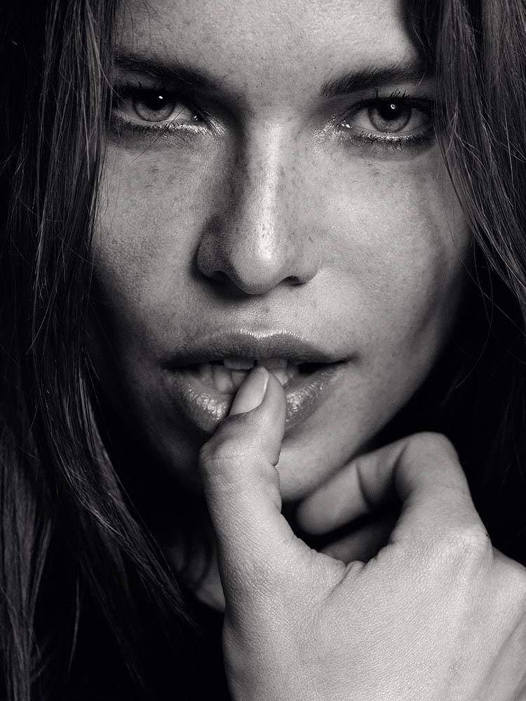 Model Louise Pedersen by danish fashion photographer Henrik Adamsen
