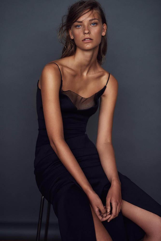 Line Manthai in fashion story by danish fashion photographer Henrik Adamsen