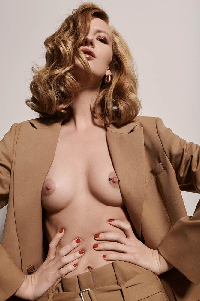 Model Sarah Kildevæld by danish fashion photographer Henrik Adamsen
