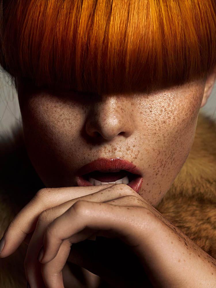 Beauty editorial for Schön Magazine by danish fashion photographer Henrik Adamsen