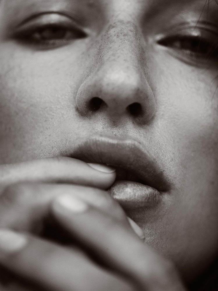 "Euroman magazine editorial ""En kvinde vi kan li'' with Line Søborg by fashion photographer Henrik Adamsen"