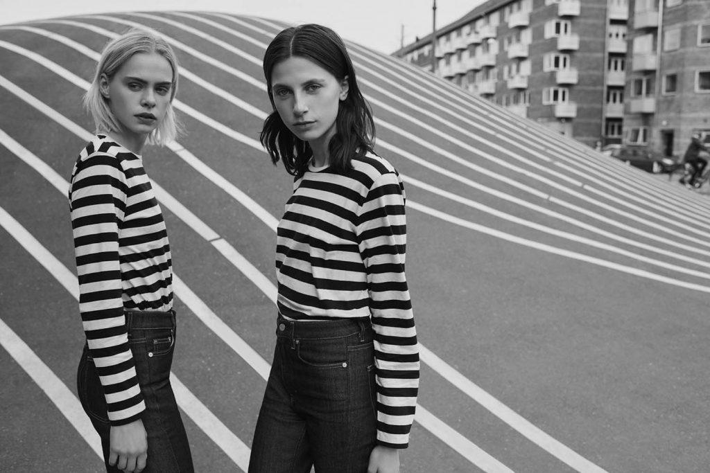 Campaign for swedish brand Filippa K by danish fashion photographer Henrik Adamsen