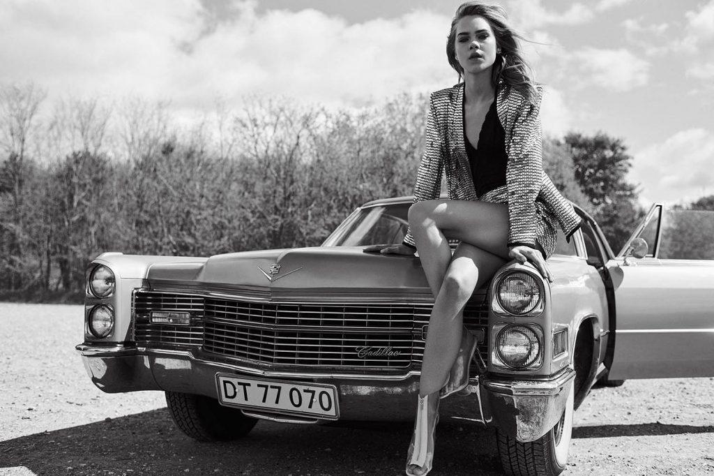 Line Brems in Keen Magazine fashion editorial by danish fashion photographer Henrik Adamsen