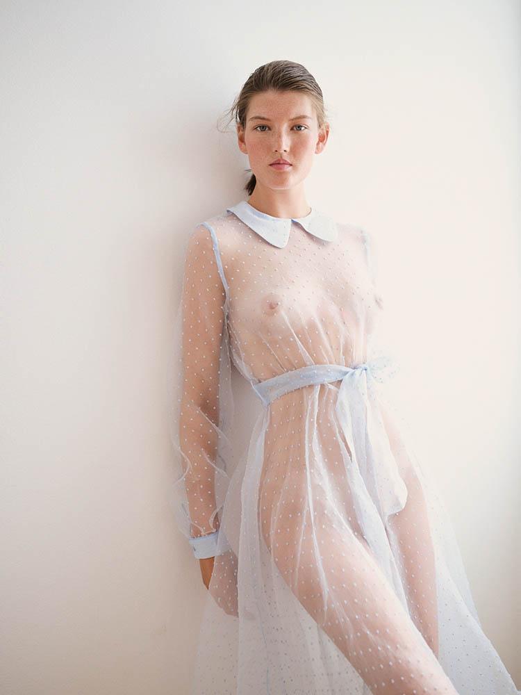 Caroline Tassing by danish fashion photographer Henrik Adamsen