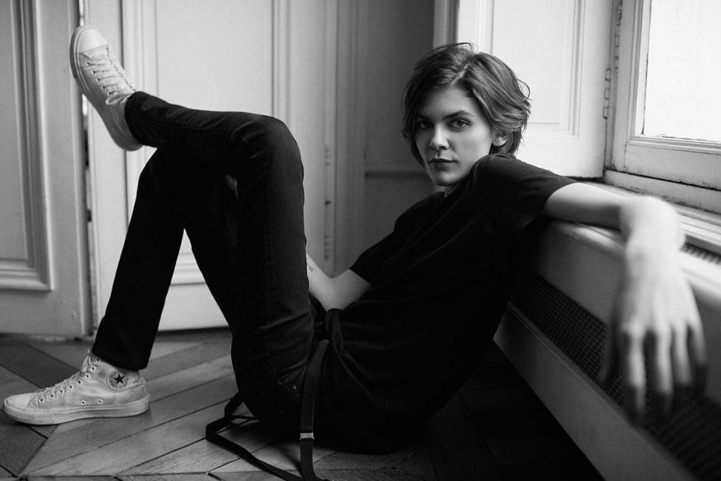 Model Melissa Stasiuk in fashion portrait story by danish fashion photographer Henrik Adamsen