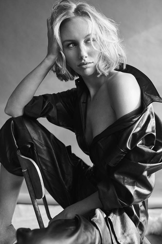 Model Alma Rune by danish fashion photographer Henrik Adamsen