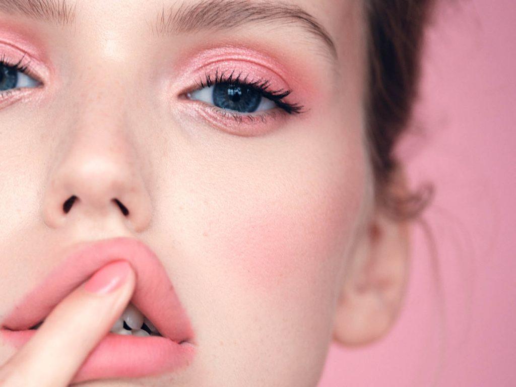 Beauty shoot with Emma Brandstrup by danish fashion photographer Henrik Adamsen