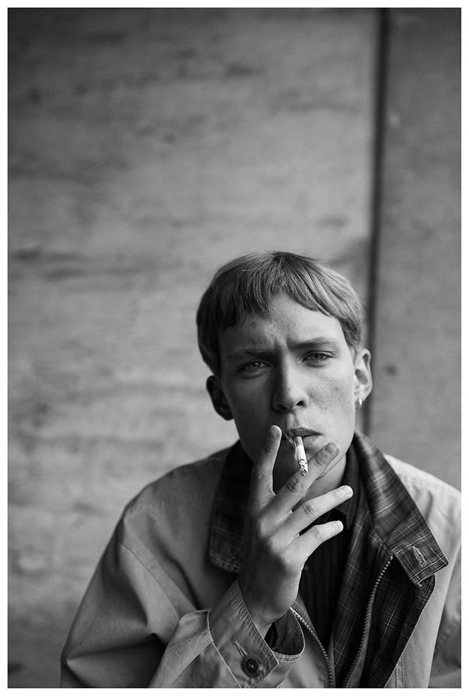 Joakim Grøntved in henrikadamsen_unretouched fashion editorial by danish photographer Henrik Adamsen